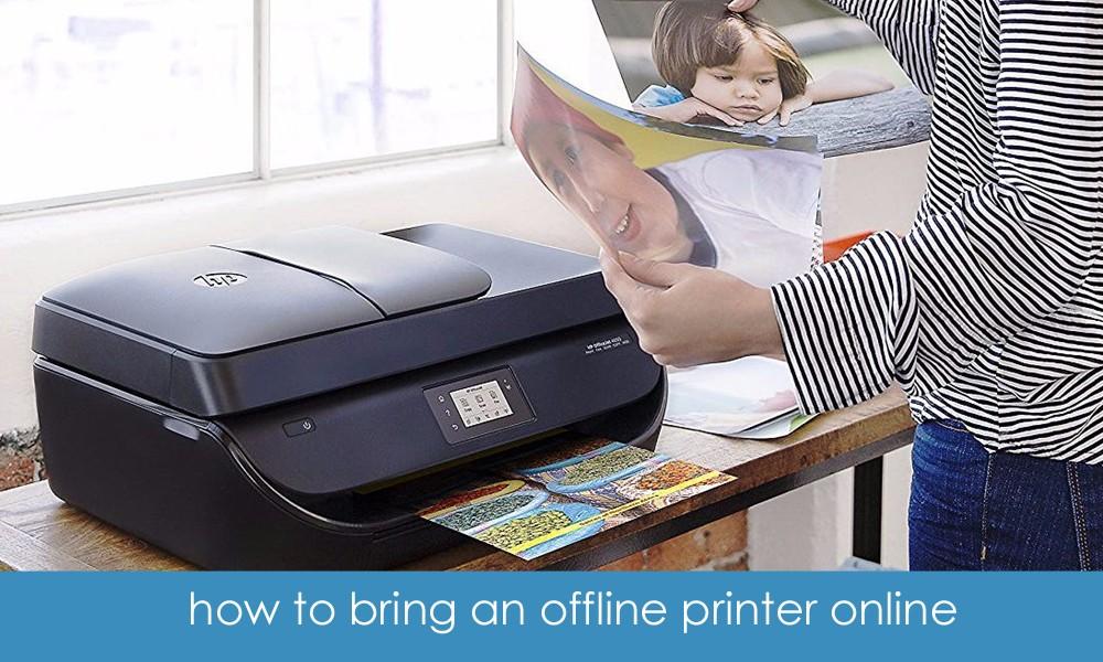 Printer offline to online - how to bring an offline printer online