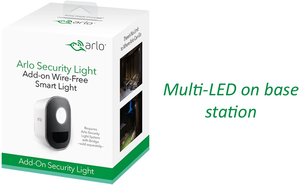 Multi-LED on base station