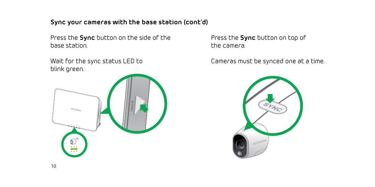 is arlo camera led is green