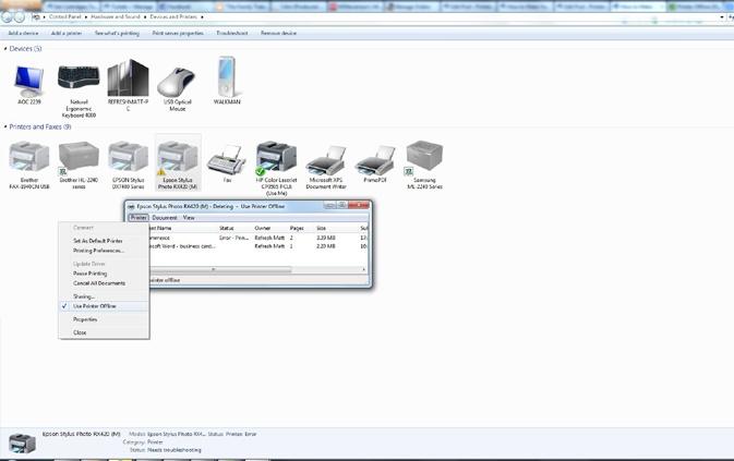 FIX HP DeskJet 3755 keeps going offline