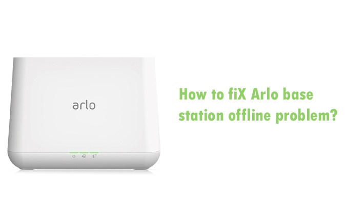 How to find Arlo base station offline problem