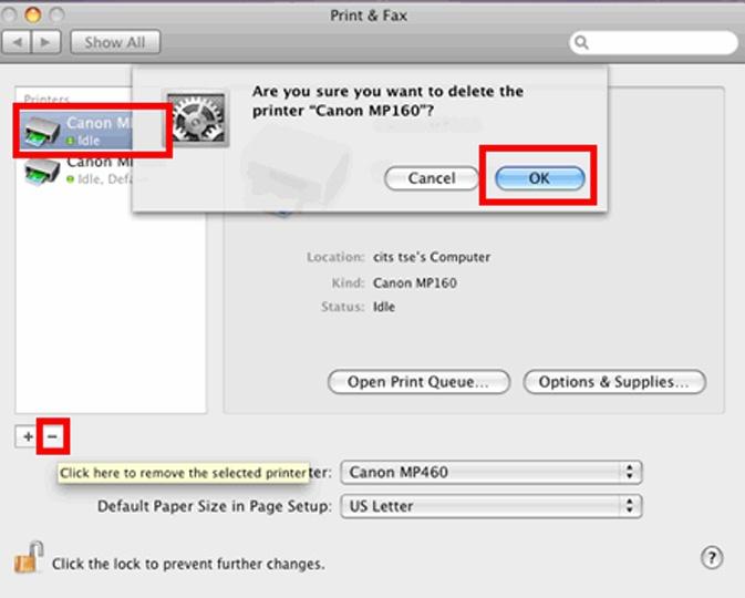 Setup your canon printer on Mac easily