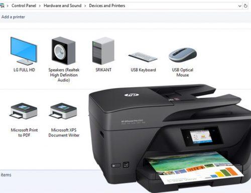 How do I setup wireless printer in windows 10