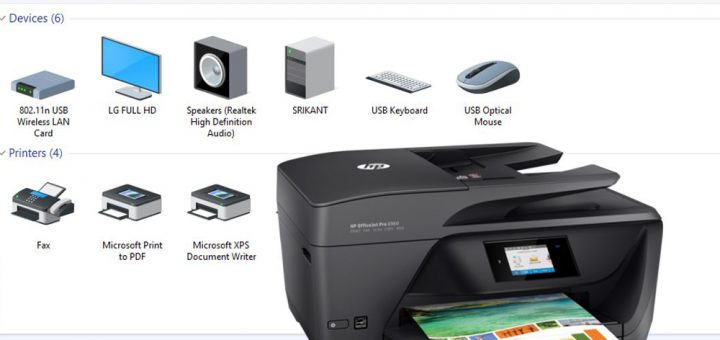 setup wireless printer windows 10