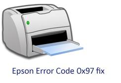 Epson Error Code 0x97 fix