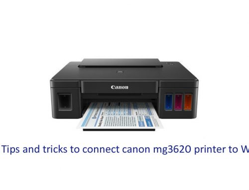 Tips and tricks to connect canon mg3620 printer to WiFi