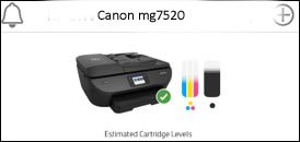 canon mg7720 printing problems