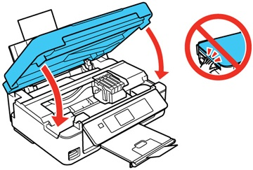 epson wf-2540 printer not printing black