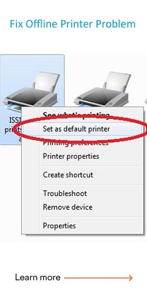 Fix Offline Printer Problem