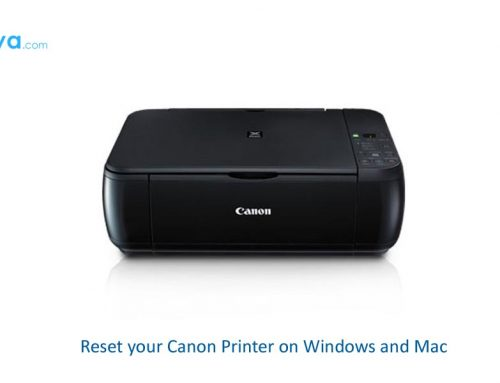 Reset your Canon Printer on Windows and Mac