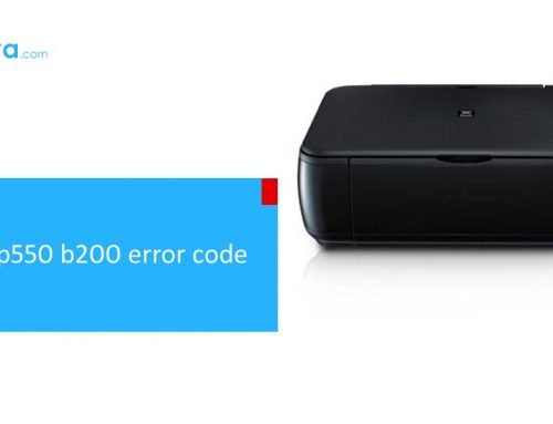 Tips and Tricks to clear canon mp550 b200 error code
