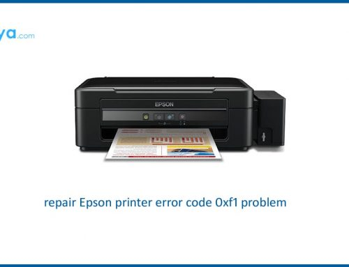 how to fix epson printer error code 0xf1 on windows and mac