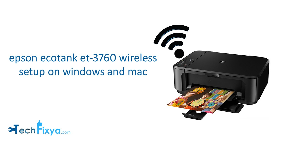 epson ecotank et 3760 wireless setup